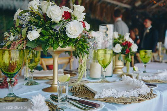 Tulum wedding flowers 5