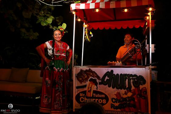 Tulum Wedding Food and Drinks