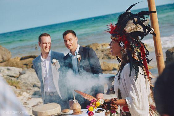 Tulum Wedding ceremony