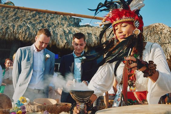 Tulum Wedding ceremony2
